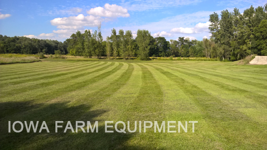 Flail Mower Lawn Striping