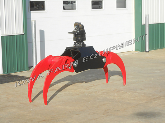 Excavator Rotating Grapple