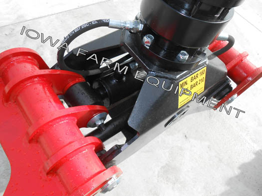 ICM Grapple and Hydraulic Rotator