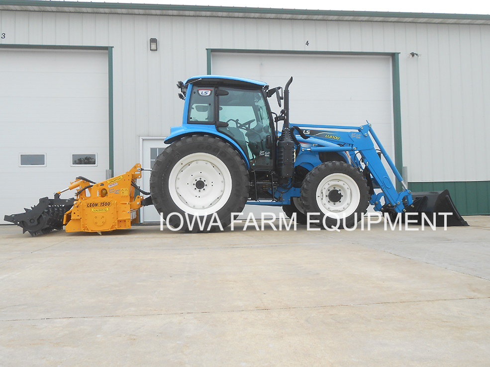 LS8101 Tractor and Peruzzo Bull Flail Mower Package