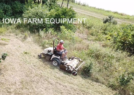 Grasshopper 700 Series Front Mount Flail Mower