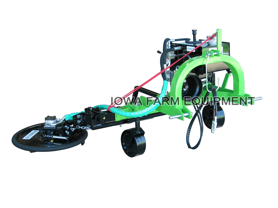 Peruzzo Bull Series Offset Flail Mower