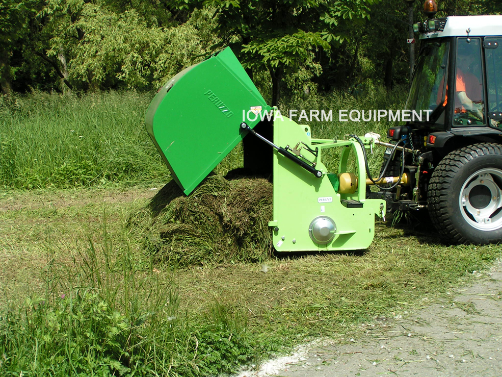Peruzzo Canguro Normal 3 Point Collection Hopper Flail Mower
