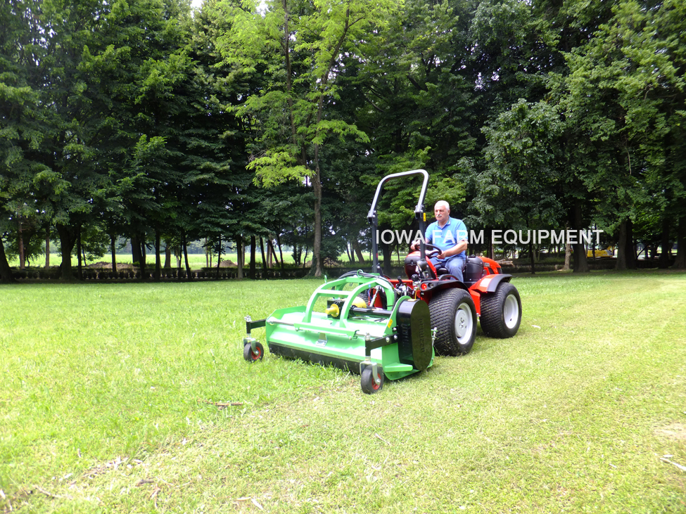 Peruzzo Elk Tractor Front Mount Offsetable Flail Mower