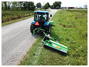 Peruzzo Elk Cross Series Ditch Bank Flail Mowers