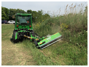 Peruzzo Fox Cross Ditch Bank Flail Mowers