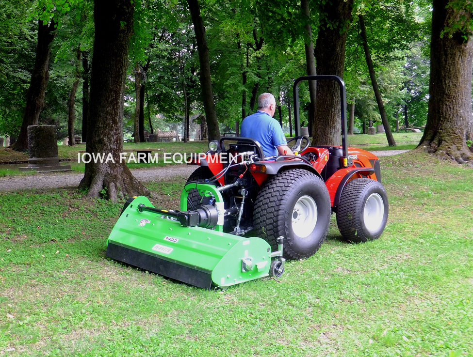Peruzzo Fox S Offset Tractor 3 Point Flail Mowers