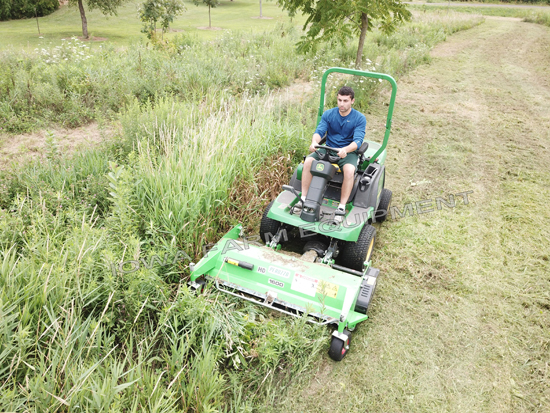 Front Flail Mower for Thick Vegetation