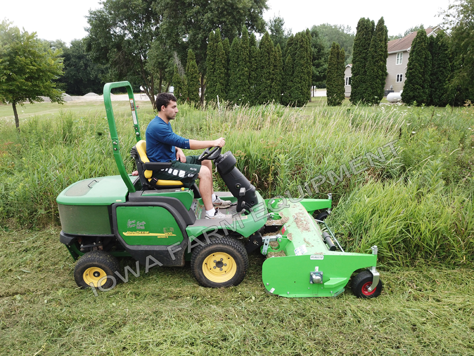 Peruzzo Teg Special Front Mount Flail Mowers for John Deere