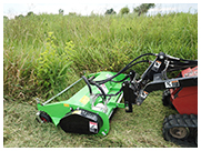 Peruzzo Mini Skid Steer Flail Mower