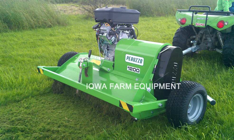 Self Propelled Flail Mower Aerator