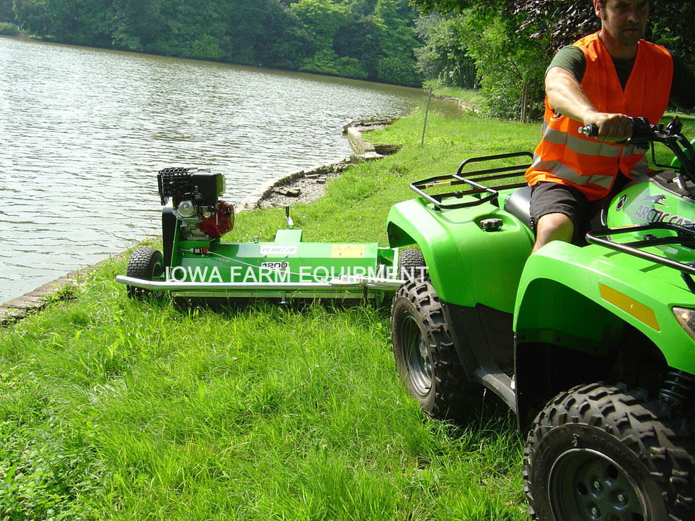 Self Propelled ATV Flail Mower