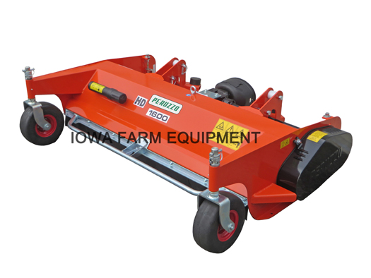 Peruzzo Teg Special Front Mount Flail Mower for Kubota Tractor