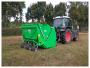Peruzzo Tiger Collection Hopper Sweeper Flail Mower