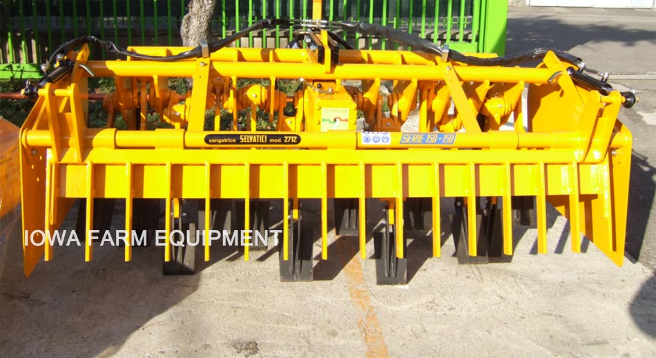 Selvatici Compact Tractor Tilling Equipment