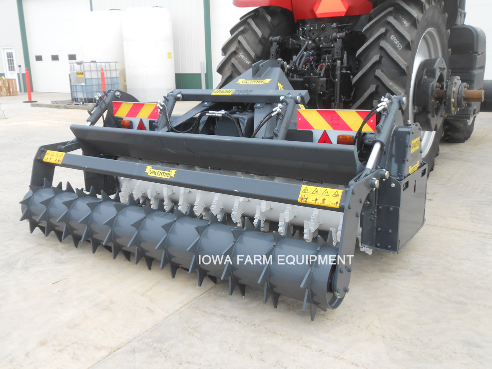 Valentini Tractor Apache 2500 Forestry Tiller