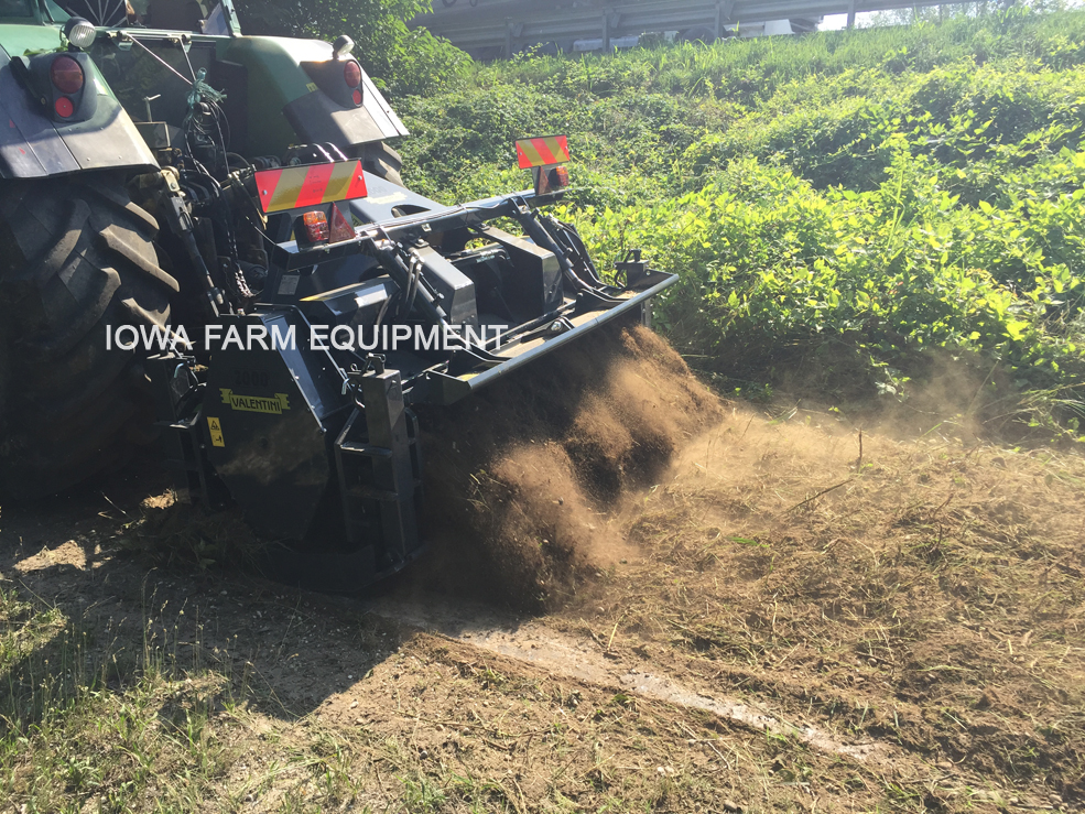 Valentini 'A' Series PTO Powered Forestry Mulchers/Tillers