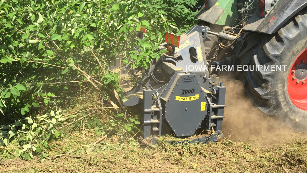 Valentini Tractor Three Point Forestry Mulcher