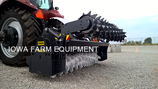 Valentini Tractor Forestry Rotary Tiller Mulcher