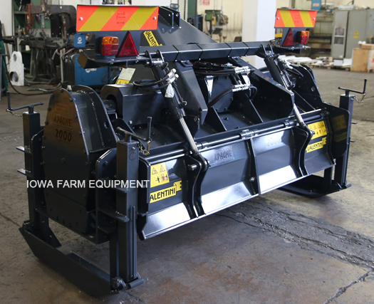 Valentini 100HP Tractor Forestry Rotary Tiller Mulcher
