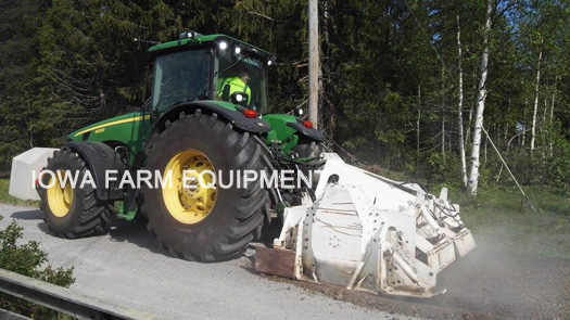 Valentini A Series Rock Crushing Attachment