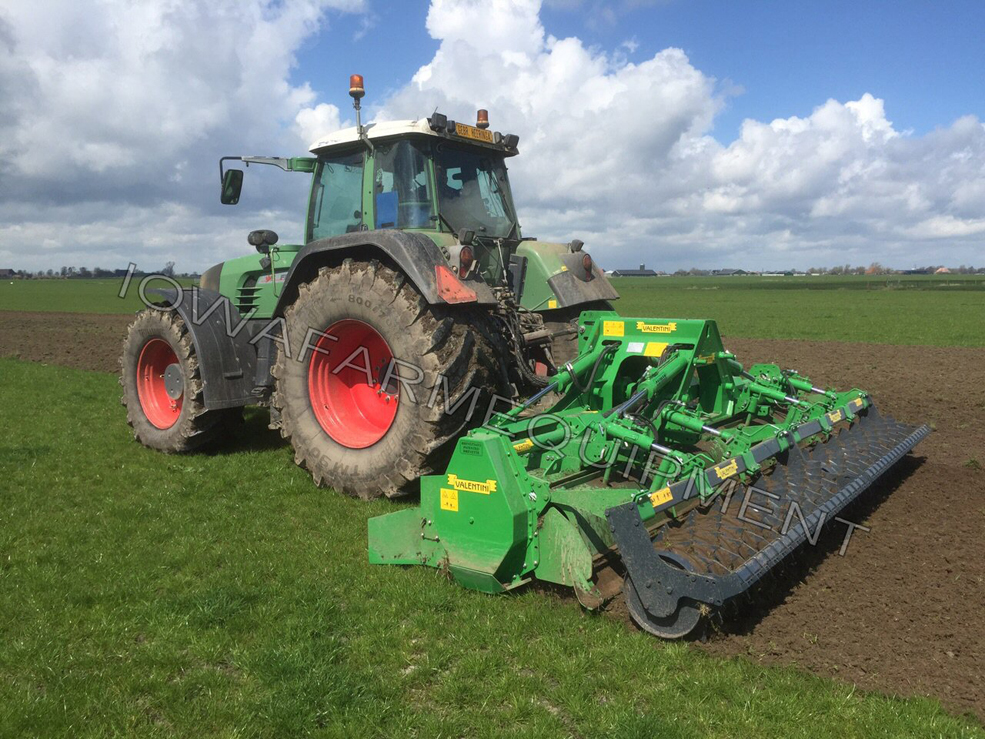 Valentini Caiman PTO Powered Burier with Packer Roller