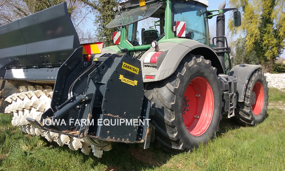 Valentini 'C' Series PTO Powered Forestry Mulchers/Tillers