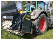 Valentini C Series Tractor Forestry Tiller Mulchers