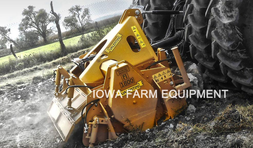 Valentini I Series 3 Point Rock Crushers