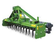 Valentini King Series Power Harrows