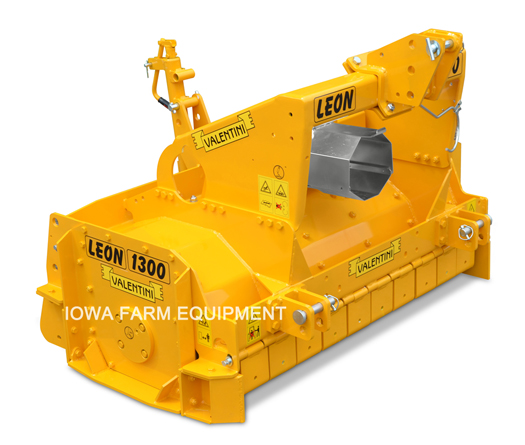 Valentini Leon Series 3 Point Road Preparation Rock Crushers