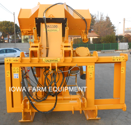 Valentini Heavy Duty 3 Point Vertical Rock Trencher