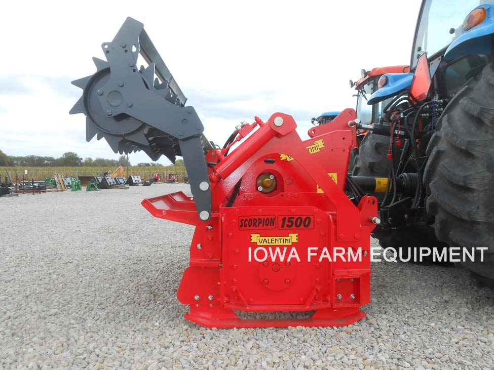 Valentini Scorpion Tractor 3 Point Forestry Tillers