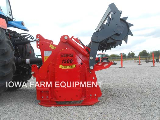 Valentini Tractor 3-Point Forestry Mulchers