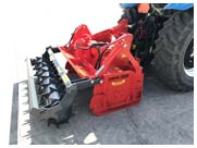 Valentini Scorpion Tractor PTO Forestry Tillers