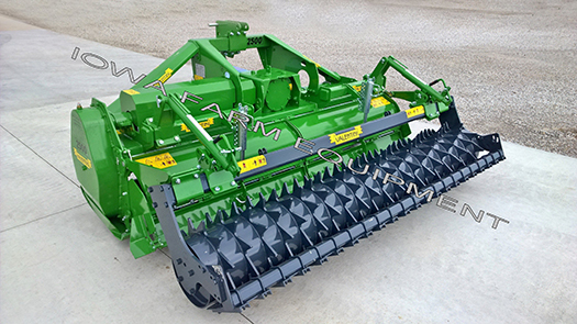 Valentini Power Harrow with Roller