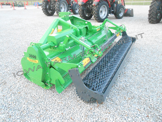 Valentini U3000 3 Point Rotary Tillers