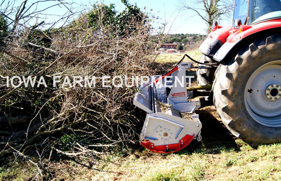 Land Clearing Forestry Mulcher Attachment for Tractor