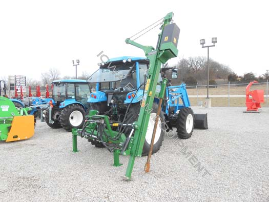WRAG Basic XL Tractor 3PT Post Driver
