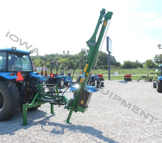 WRAG Basic XL Tractor Three Point Post Driver