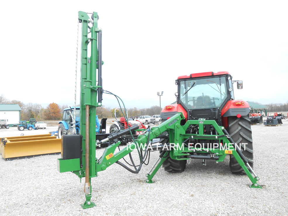 WRAG Diadem 400 Heavy Duty Post Driver with Spike