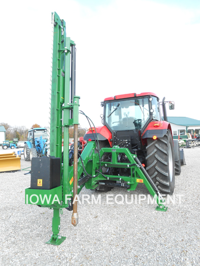 WRAG Diadem 400 Tractor 3 Point Post Driver with Spike