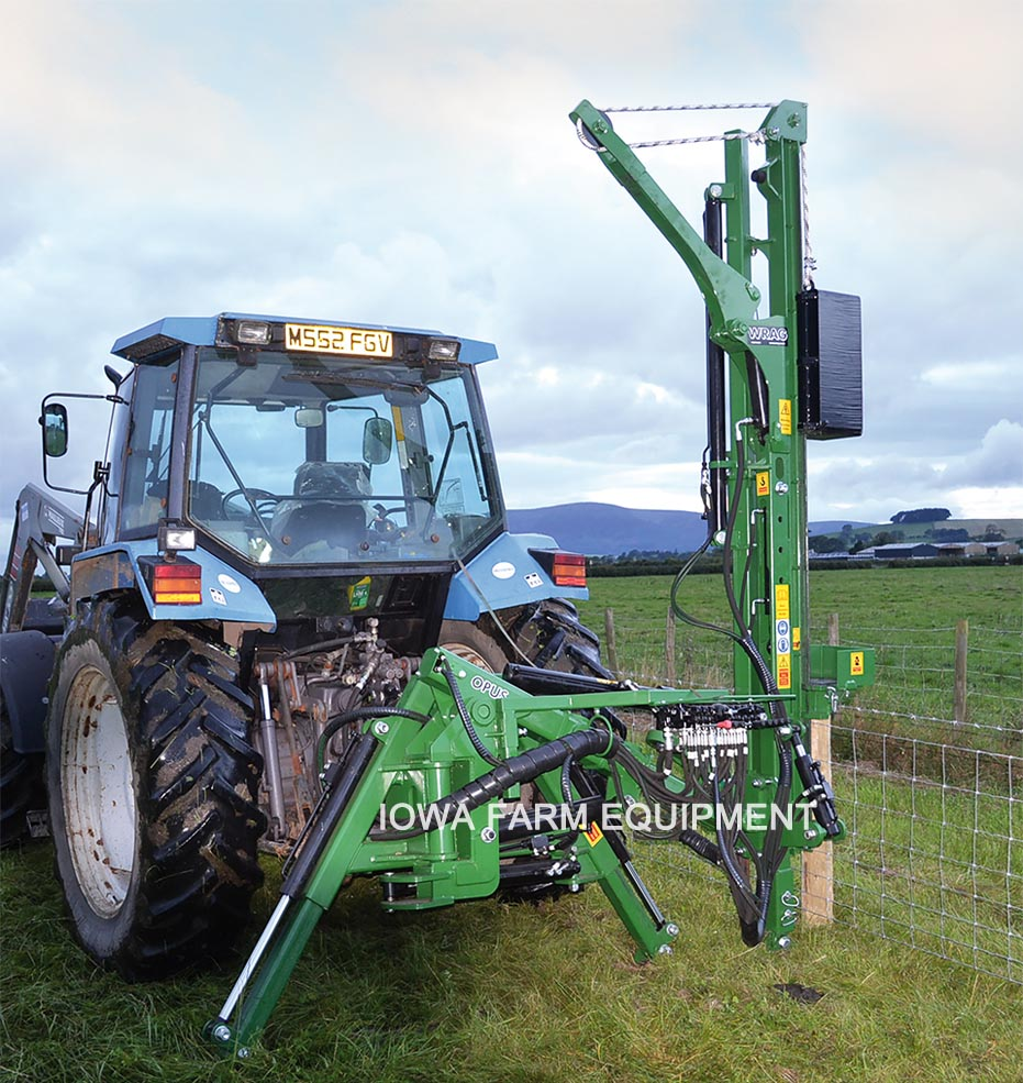 Hydraulic Post Drivers For Tractors : Wrag opus series hydraulic post drivers iowa farm equipment